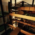 ImagReplika Potterovho ohňového stroja v budove múzeae34