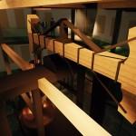 ImageReplika Potterovho ohňového stroja v budove múzea36